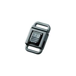 Boucle attache rapide (10 mm - Noir - Plastique) 830cfa766b0