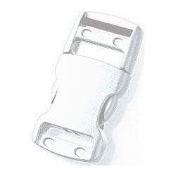 Boucle attache rapide (30 mm - Blanc - Plastique) 5d6ba190cf5