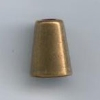 Embout cordon (Laiton - Bronze - 18 mm)